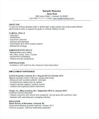 Examples Of Medical Assistant Resumes Cool Medical Assistant Resumes Medical Assistant Accomplishments Resumes