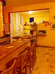 Mexican Kitchen Endearing Yellow Themed Mexican Kitchen Color Design Idea Also