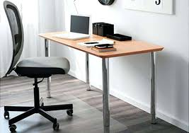 ikea office desk a light home with grey chair brown table top and silver white n20 desk