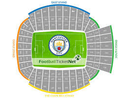 Etihad Stadium Manchester Seating Chart Manchester City Vs Norwich City At Etihad Stadium On 17 05