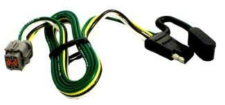 4 way trailer connector wiring harness for a 2002 nissan xterra Nissan Xterra Wiring Diagram tow package vehicle wiring harness with 4 pole flat trailer connector nissan xterra 2007 nissan xterra wiring diagram