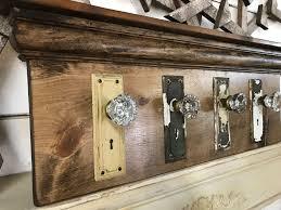 Knob Coat Rack Architectural Salvage Coat Rack Rustic Coat Rack Antique 24