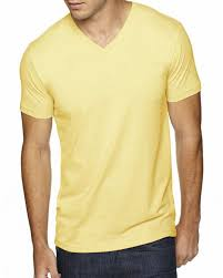 Next Level 6440 Mens Premium Fitted Sueded V Neck Tee
