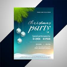 christmas event flyer template christmas event party decorative flyer template download free