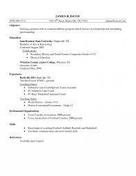 High School Basketball Coachesumeemarkable Job Description For Of