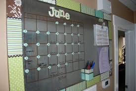 oversized dry erase magnetic calendar