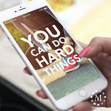 FREE iPhone Wallpaper: You Can Do Hard ...