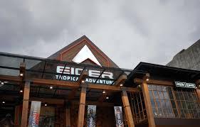 Eiger merupakan merek dari berbagai macam peralatan berkegiatan di luar ruangan. Setelah Insiden Surat Cinta Toko Eiger Kota Bandung Tetap Ramai Pengunjung Berita Bandung