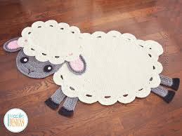 Elephant Rug Crochet Pattern Simple Crochet Rug Patterns IraRott Inc