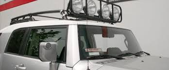 off road unlimited roof racks offroad unlimited roof rack light bar toyota fj cruiser forum