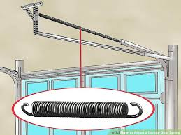 tighten garage door chain image titled adjust a garage door spring step 1 how do you tighten garage door chain image titled adjust
