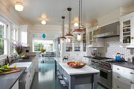 center island lighting. in kitchen traditional tongue and groove ceiling next to pendant lighting alongside center island with stove andkitchen design