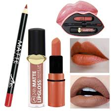 y lipstick set long lasting lip gloss lip liner perfect lip makeup kit lipstick set