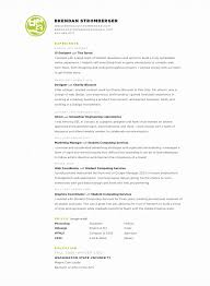 Stylish resume, by Brendan Stromberger, UI designer