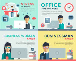 New Job Search And Stress Work Infographic Cv Head Hunters