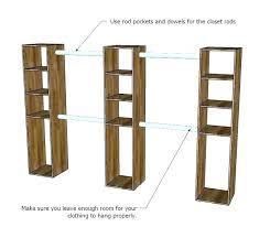 build closet organizer plans closet shelves plans feat building a organizer how to make system wood build closet organizer plans