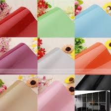 Solid Color Self Adhesive PVC Contact Paper Shelf Liner Peel & Stick  Wallpaper