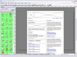Visio Web Page Design Guuui Visio The Interaction Designers Nail Gun 3rd