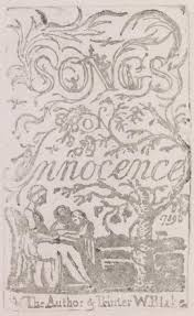 Cool Title Pages Songs Of Innocence Title Page William Blake 1789