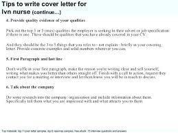 Lpn Resume Cover Letter Sample Cover Letter Resume Cover Letter