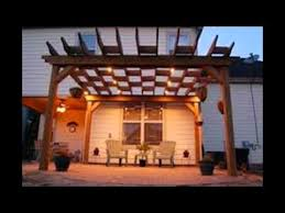pergola lighting pergola lighting
