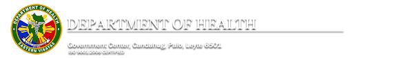 Department Of Health Region 8