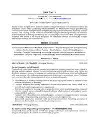 sample public relations resume 7 best public relations pr resume templates samples images
