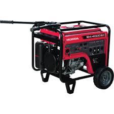 honda portable generators. Interesting Generators Honda EM4000SX IAVR Series Portable Generator U2014 5000 Surge Watts 3500  Rated Electric Intended Generators