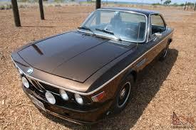 BMW 3.0 CS E9 Coupe Marrakech Brown Met - NO RESERVE
