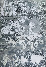 white abstract area rug
