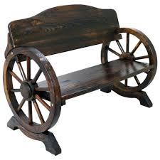 garden wooden bench 2