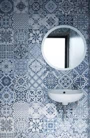 Granite Bathroom Tile Small Bathroom Renovation Using The Roman Dutch Blue Granite Tile