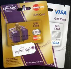 visa or mastercard gift card photo 1