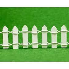 miniature fairy garden 3cm tall white