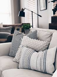 throw pillows living room