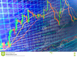 Code Stock Chart Finance Stock Exchange Background Stock Illustration
