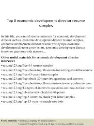 Business Development Manager Resume From Economic Development Cover