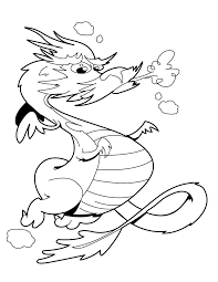 Printable 17 Fire Dragon Coloring Pages 4185 - Fire Dragon ...