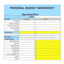 excel template monthly budget personal monthly budget template excel chaseevents co