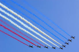 parallel planes in sports. bastille day planes parallel in sports