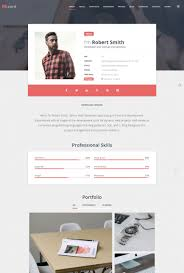 Free Resume Website Builder Resume Website Resumes Builder Web Page Template Free Download 90