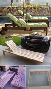 5 elegant sunbathing loungers you can diy u2013 free plans outdoor pool chaise lounge65