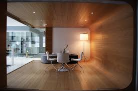 Contemporary Office Interior Design Wooden Finished Inhouse DMA
