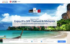 msia hotels booking with uob cards