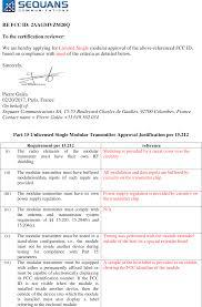 Vzm20q Vzm20q Cover Letter Modular Approval Justification Sequans