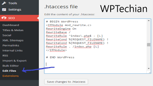 How to create and edit htaccess file in WordPress