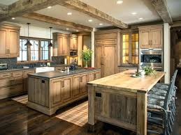 rustic kitchen leave a comment wooden with stainless steel countertops