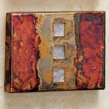 apollo wall tile on red and brown metal wall art with copper studio metal wall art plaque set