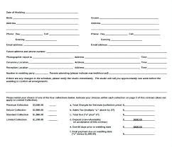 Simple Wedding Photography Contract Template – Shopsapphire