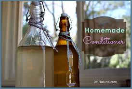 a simple homemade conditioner for soft hair